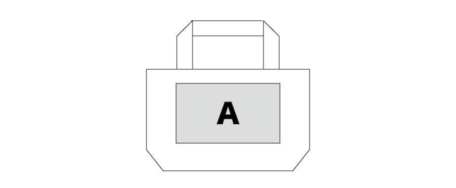 トートバッグ-配置